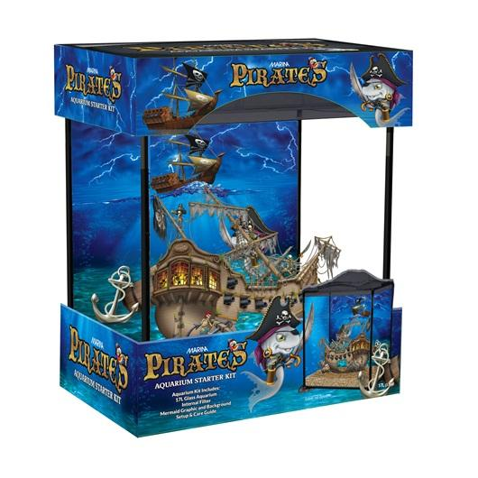 Marina Kids Pirates Aquarium Kit-Small Fluval Freshwater Aquariums-Lincs Aquatics Ltd