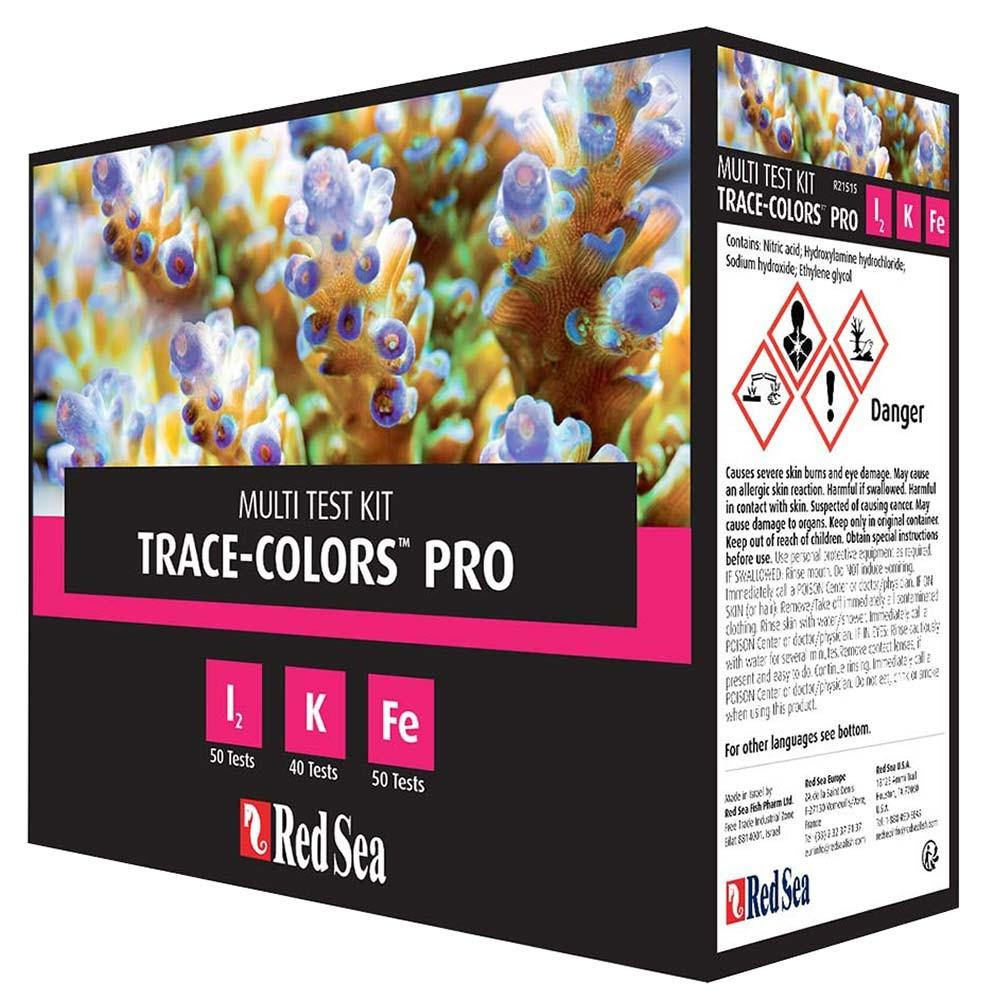 Red Sea Coral Colours Pro Test Kit Iodine/Potassium/Iron