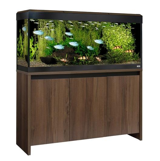 Fluval Roma 240 NEW Bluetooth LED Aquarium and Cabinet - Walnut-Fluval Freshwater Aquariums-Lincs Aquatics Ltd