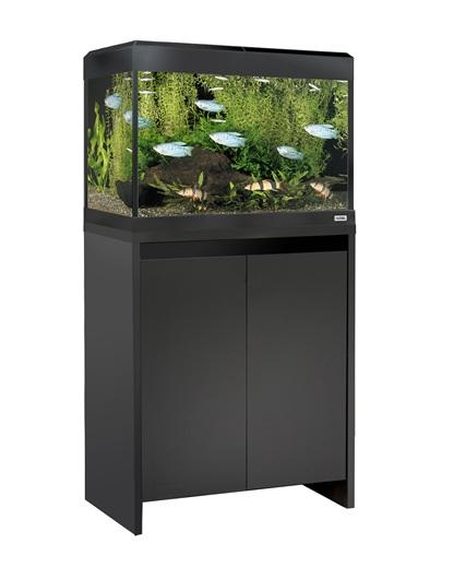 Fluval Roma 90 NEW Bluetooth LED Aquarium and Cabinet Black-Fluval Freshwater Aquariums-Lincs Aquatics Ltd