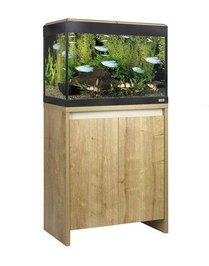 Fluval Roma 90 LED Aquarium and Cabinet Oak