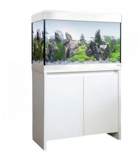 Fluval Roma Bluetooth LED 125 Aquarium and Cabinet - White-Lincs Aquatics Ltd