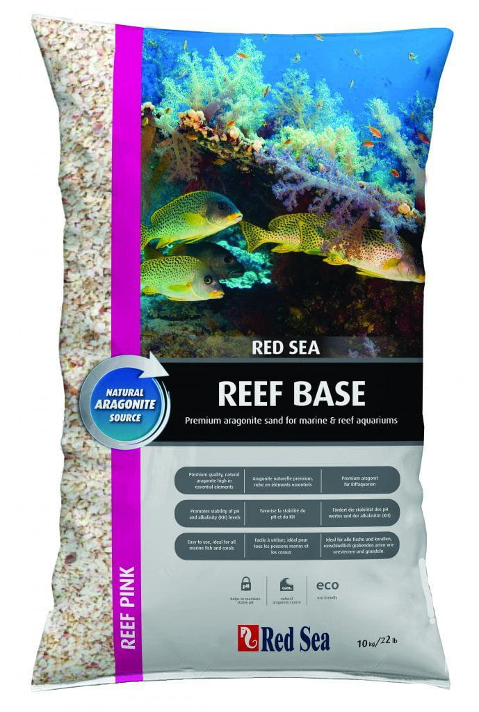 Red Sea Reef Base - Aragonite Sand (10Kg)-Reef Substrate-Lincs Aquatics Ltd