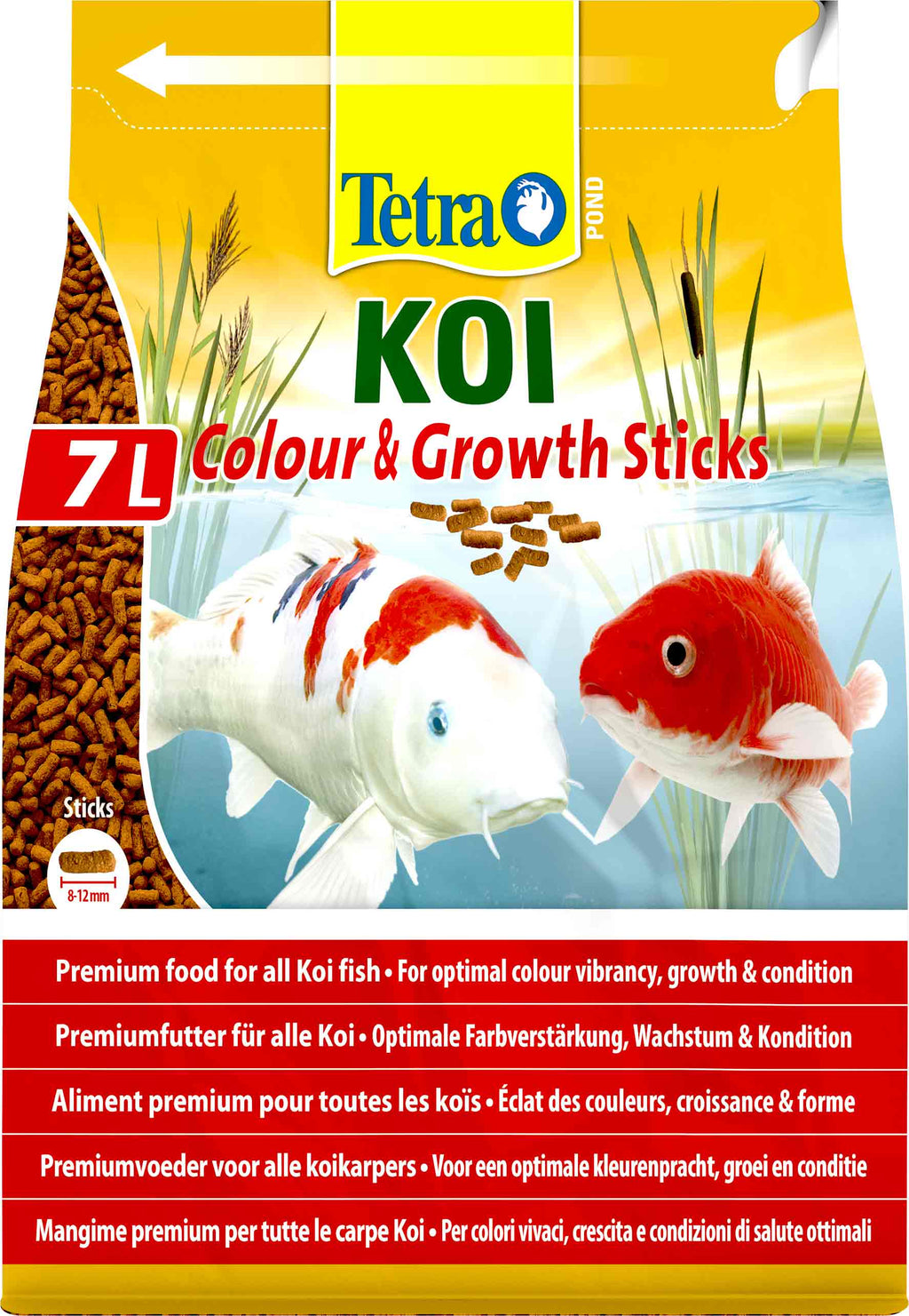 Tetra Koi Sticks Colour and Growth 7 Litre-Tetra Pond Food-Lincs Aquatics Ltd