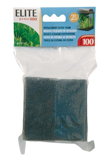 Elite Jet Flo 100 Replacement Foam, 2 pack-Internal Filters-Lincs Aquatics Ltd