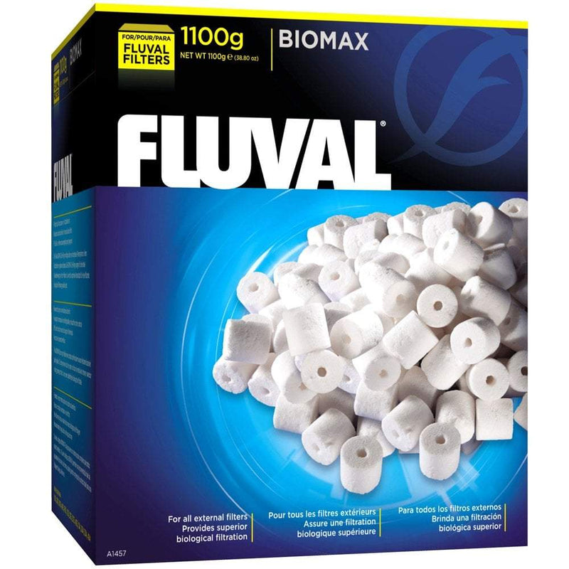 Fluval BIOMAX Bio Rings, 1100g-External Filters-Lincs Aquatics Ltd