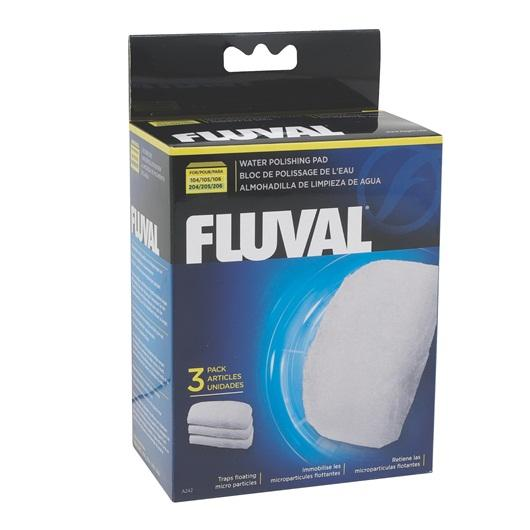 Fluval Polishing Pad for 104/105/106/107 AND 204/205/206/207 3 pieces-External Filters-Lincs Aquatics Ltd