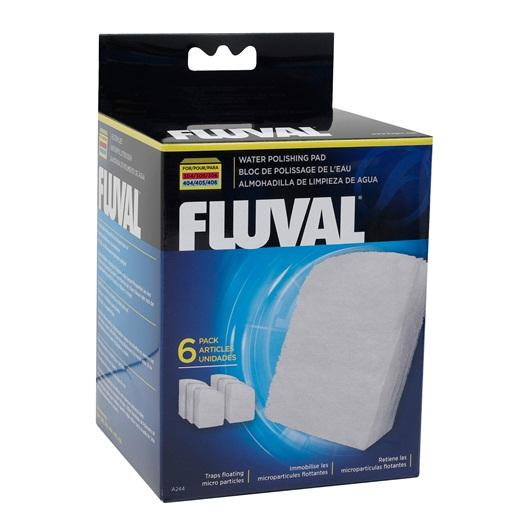 Fluval Polishing Pad for 304/305/306/307 and 404/405/406/407, 6 pieces-External Filters-Lincs Aquatics Ltd