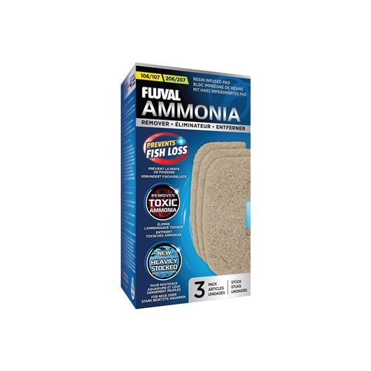 Fluval 106/206 and 107/207 Ammonia Remover - 3 pack-External Filters-Lincs Aquatics Ltd