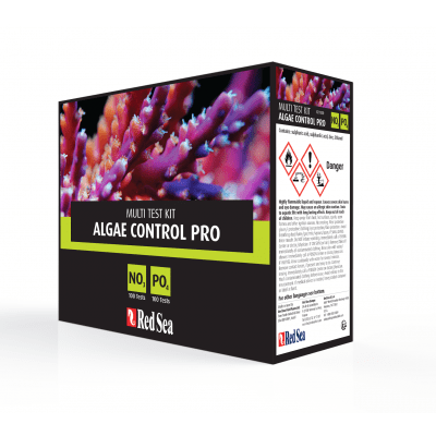Red Sea Algae Control Pro Comparator Nitrate Phosphate Test Kit