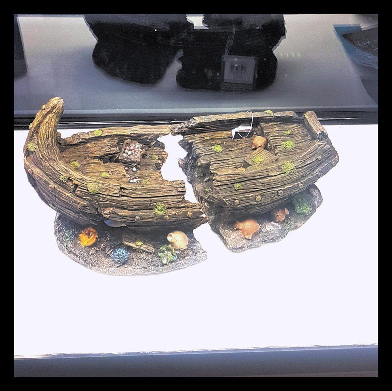 Day 6 - Algarde Shipwreck Ornament-Algarde-Lincs Aquatics Ltd