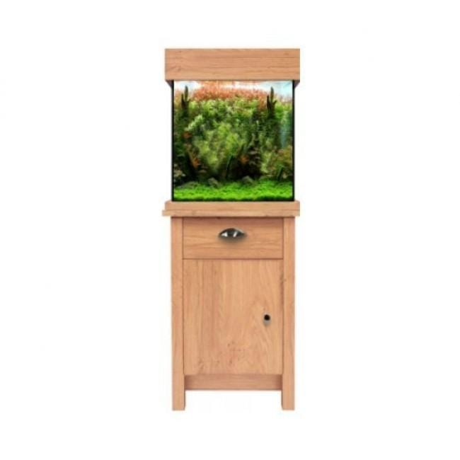 Aqua One Oak Style 85 Aquarium and Cabinet