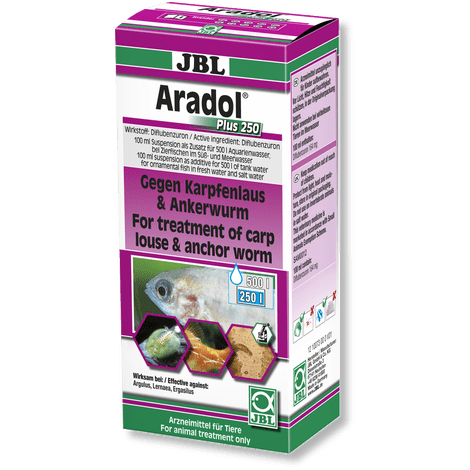JBL Aradol Plus 250-Parasite Treatment-Lincs Aquatics Ltd