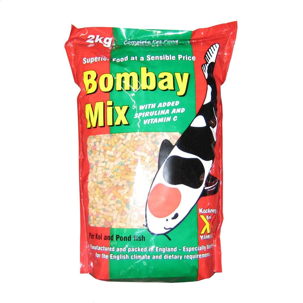 Kockney Koi Bombay Mix 2kg-KOCKNEY KOI FOOD-Lincs Aquatics Ltd