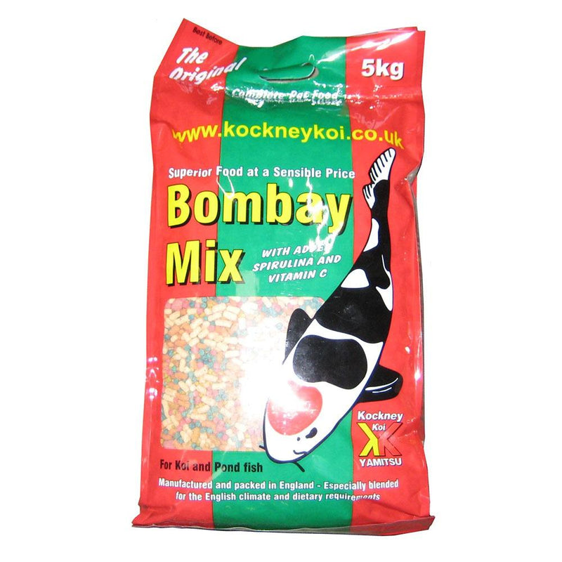 Kockney Koi Bombay Mix 5kg-KOCKNEY KOI FOOD-Lincs Aquatics Ltd