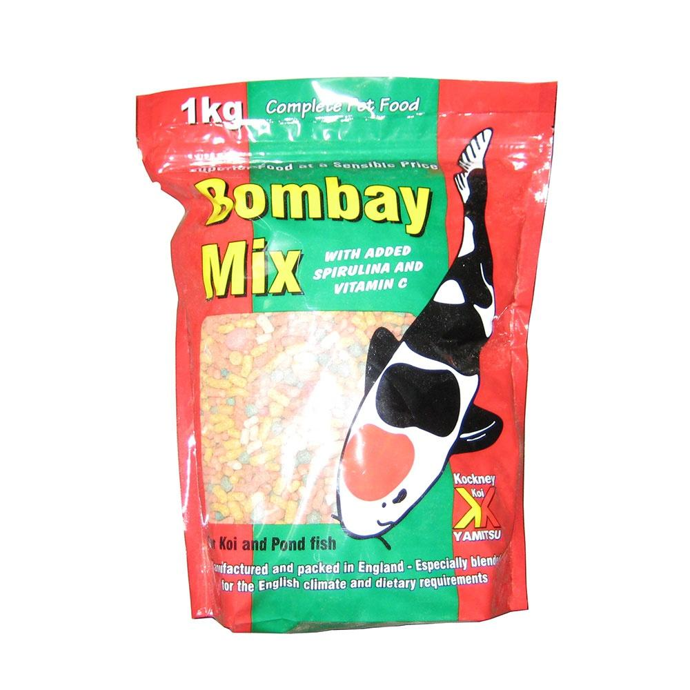 Kockney Koi Bombay Mix 1kg-KOCKNEY KOI FOOD-Lincs Aquatics Ltd