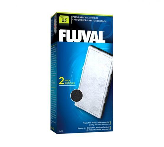 Fluval U2 Poly / Carbon Cartridge-Internal Filters-Lincs Aquatics Ltd