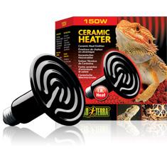 Exo Terra Ceramic Heat Lamp 150 w-basking lamp-Lincs Aquatics Ltd