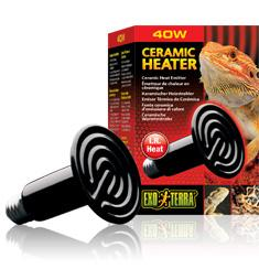 Exo Terra Ceramic Heat Lamp 40 w-basking lamp-Lincs Aquatics Ltd