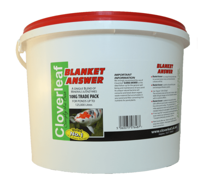 Cloverleaf Blanket Answer Blanketweed Treatment 10kg-Cloverleaf Blanketweed-Lincs Aquatics Ltd