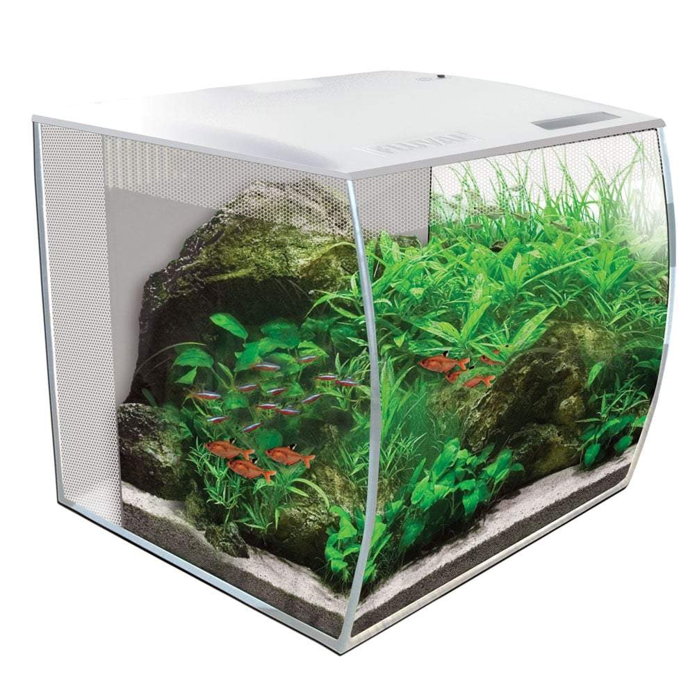 Fluval FLEX Aquarium Kit 34L White