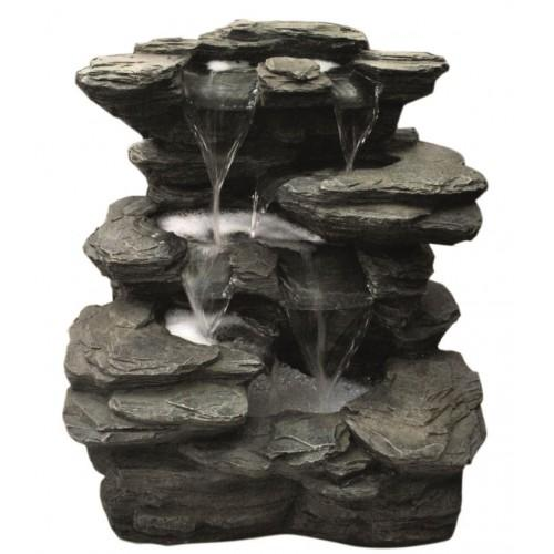 Hamac Flowing Springs Slate Falls Water Feature-Water Feature-Lincs Aquatics Ltd
