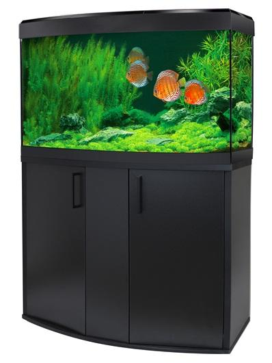 Fluval Vicenza 180 LED Aquarium and Cabinet Black