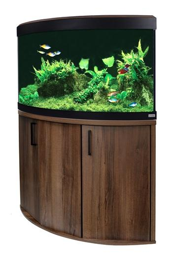 Fluval Venezia 190 LED Aquarium and Cabinet Walnut