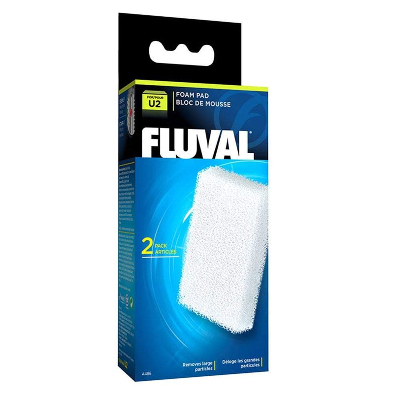 Fluval U2 Filter Foam Pads (2pcs)-Internal Filters-Lincs Aquatics Ltd