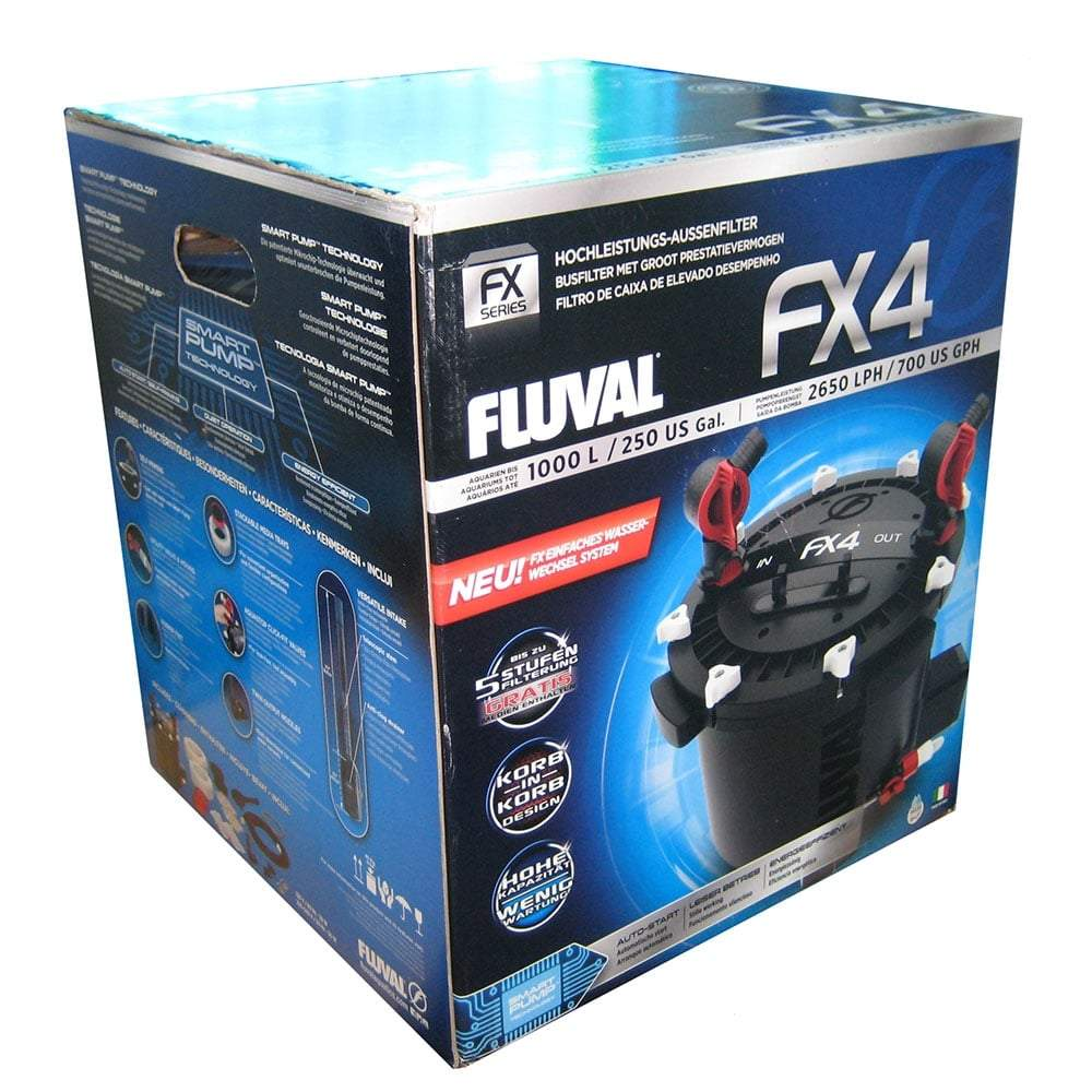 Fluval FX4 External Aquarium Filter-External Filters-Lincs Aquatics Ltd