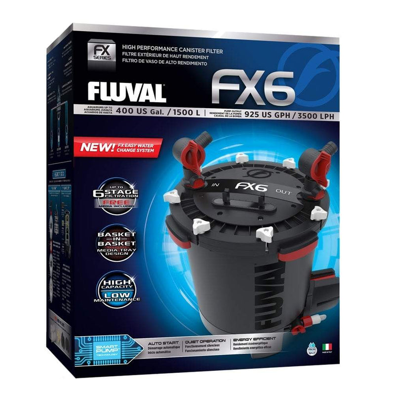 Fluval FX6 External Aquarium Filter-External Filters-Lincs Aquatics Ltd