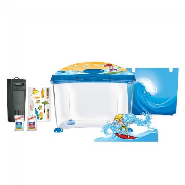 Marina Surfin 14 Litre Aquarium Set-Small Fluval Freshwater Aquariums-Lincs Aquatics Ltd
