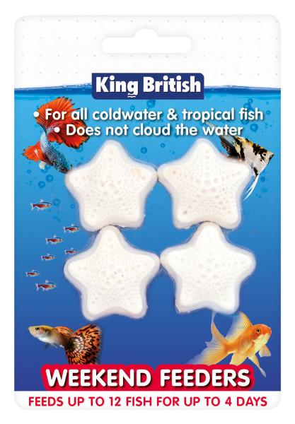 King British Weekend Feeders-Fish Food-Lincs Aquatics Ltd