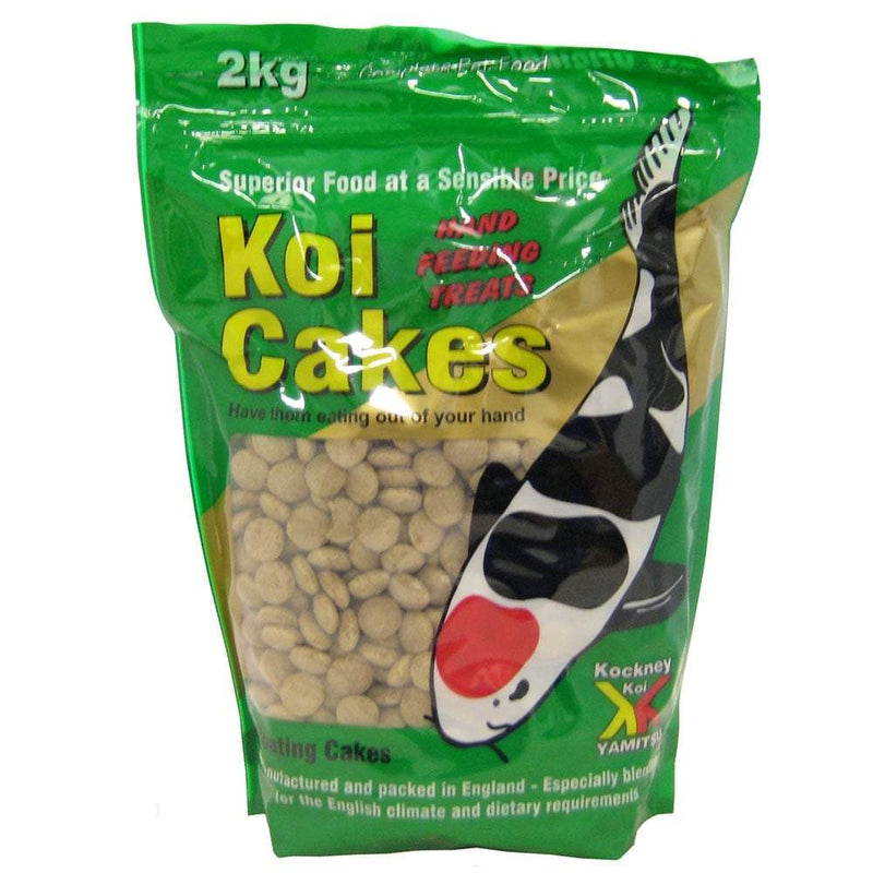 Kockney Koi koi cakes 2kg-KOCKNEY KOI FOOD-Lincs Aquatics Ltd