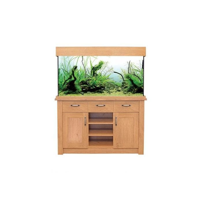 Aqua One Oak Style 230 Aquarium & Cabinet Urban Edition-Oak Style-Lincs Aquatics Ltd