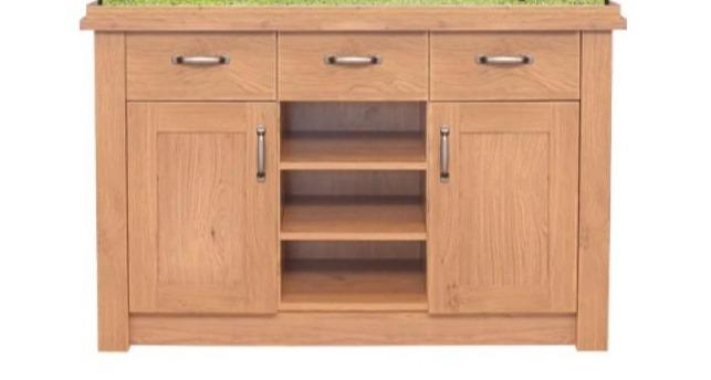 Aqua One Oak Style 145 Unit Only-Oak Style-Lincs Aquatics Ltd