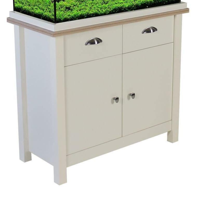 Aqua One Oak Style 145 Unit only - Soft White-Oak Style-Lincs Aquatics Ltd