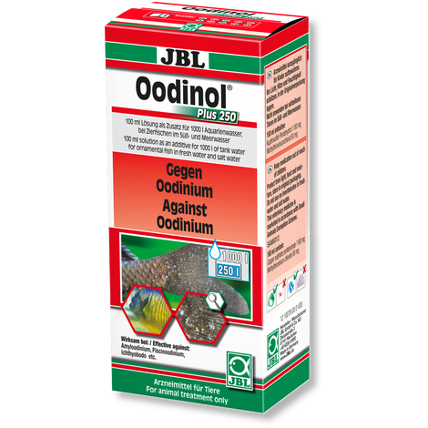 JBL Oodinol Plus 250-Parasite Treatment-Lincs Aquatics Ltd