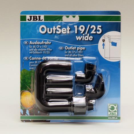 JBL OutSet wide External Filter Outlet-External Filters-Lincs Aquatics Ltd