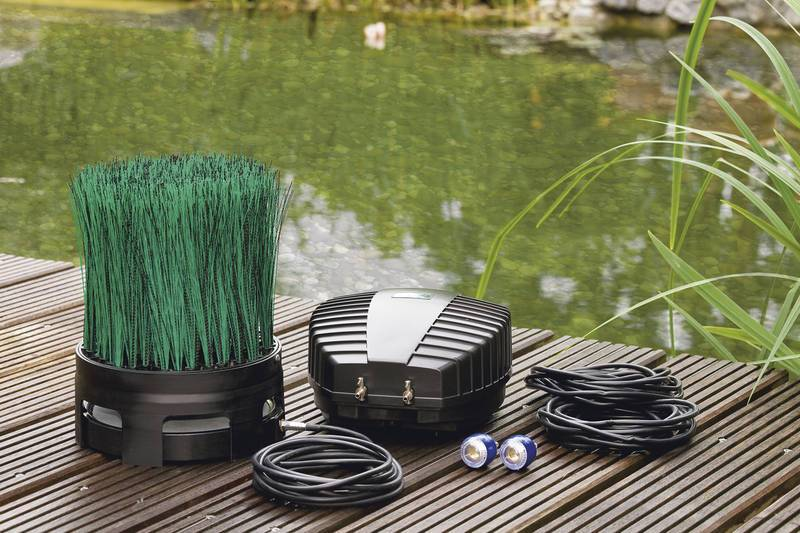 Oase OxyTex Set 1000 Air Pump Kit-Pond Air Accessories-Lincs Aquatics Ltd