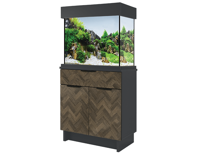 Oakstyle Parquet Collection 110L Tank and Cabinet