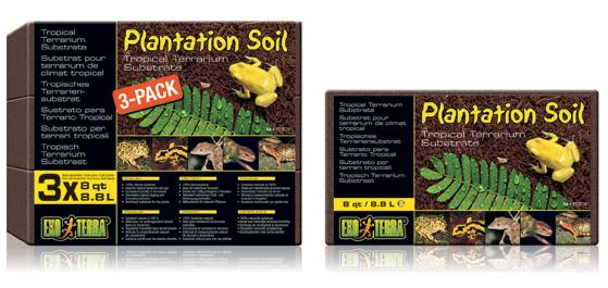 Exo Terra Plantation Soil 3 pack-Exo Terra Substrates-Lincs Aquatics Ltd