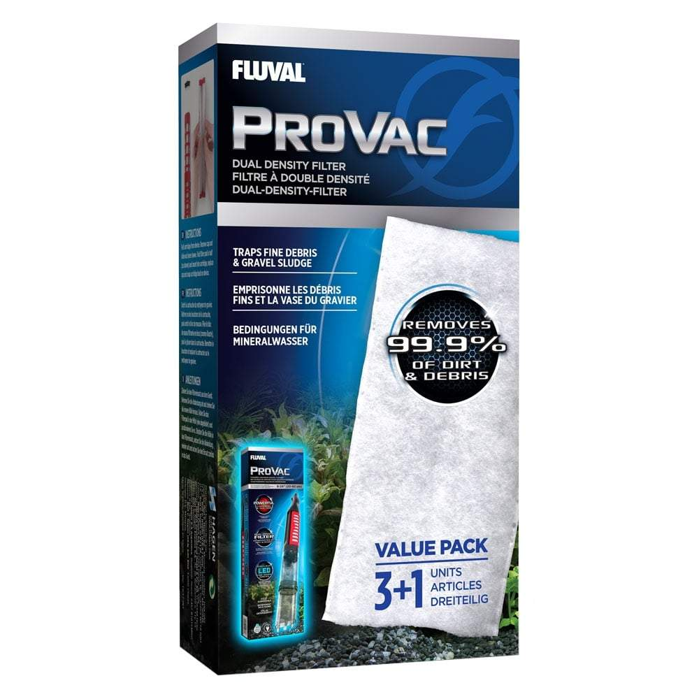 Fluval ProVac Dual Density Filter Pad - 4 pack