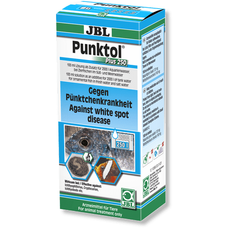 JBL Punktol Plus 250-Parasite Treatment-Lincs Aquatics Ltd