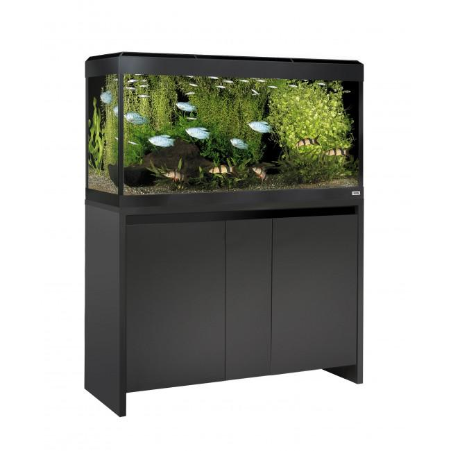 Fluval Roma 200 NEW Bluetooth LED Aquarium and Cabinet Black-Hagen-Lincs Aquatics Ltd