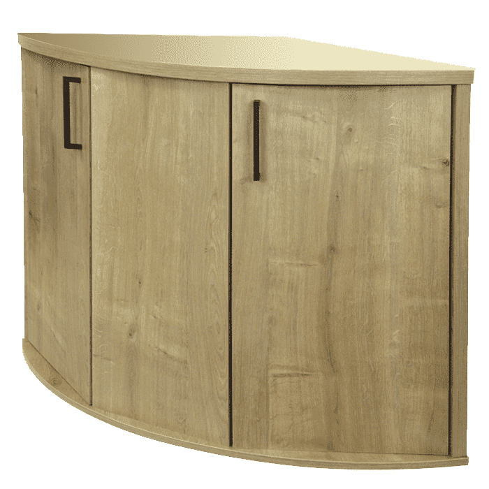 Fluval Venezia 190 Cabinet - Oak-Aquarium Cabinets-Lincs Aquatics Ltd