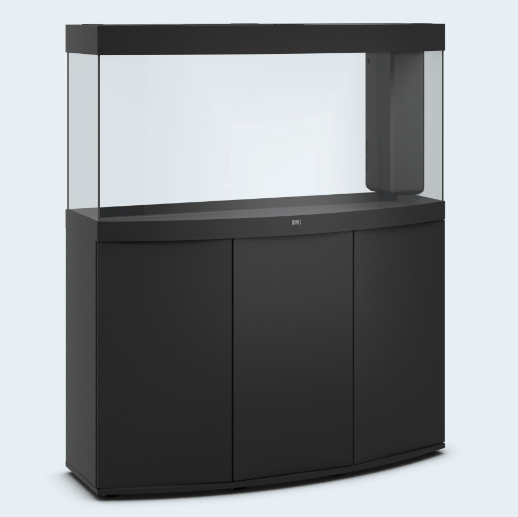 Juwel vision 260 LED Aquarium Tropical fish tank inc cabinet Black-Aquariums-Lincs Aquatics Ltd