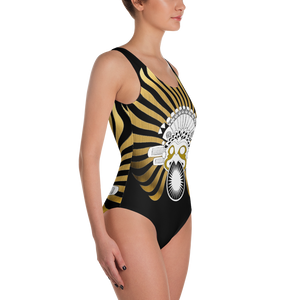 SUNBIRD BLACK : One-Piece Swimsuit