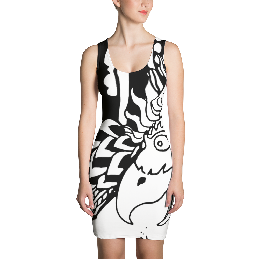 SOLITARY REALIZER : Sublimation Cut & Sew Dress