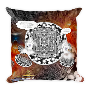 DRUK ANIMATED : Square Pillow
